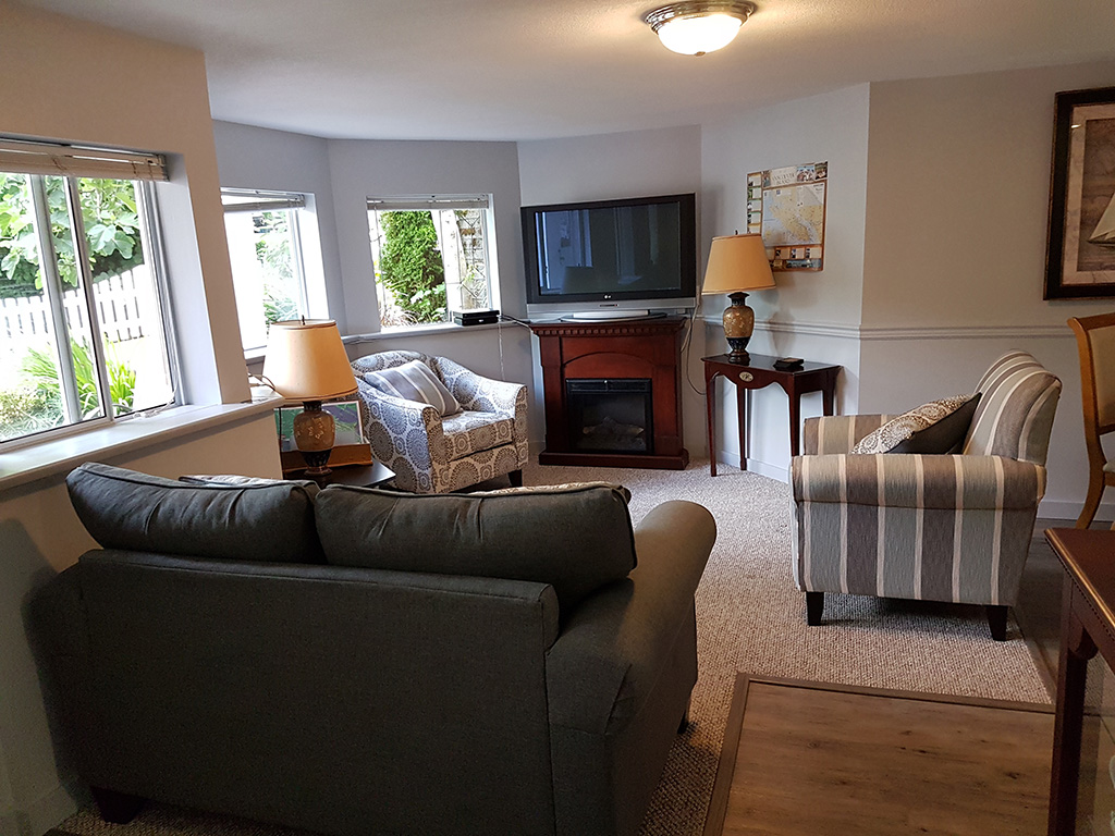 Lower Suite Living Room